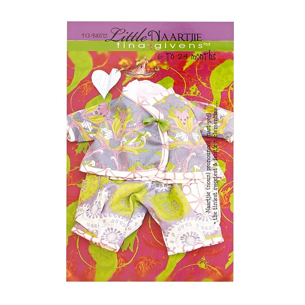 Tina Givens Little Naartjie Shirt and Pants Pattern
