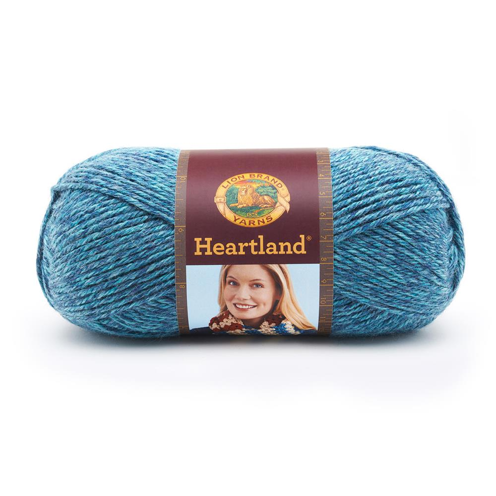 Lion Brand Heartland Yarn Glacier Bay