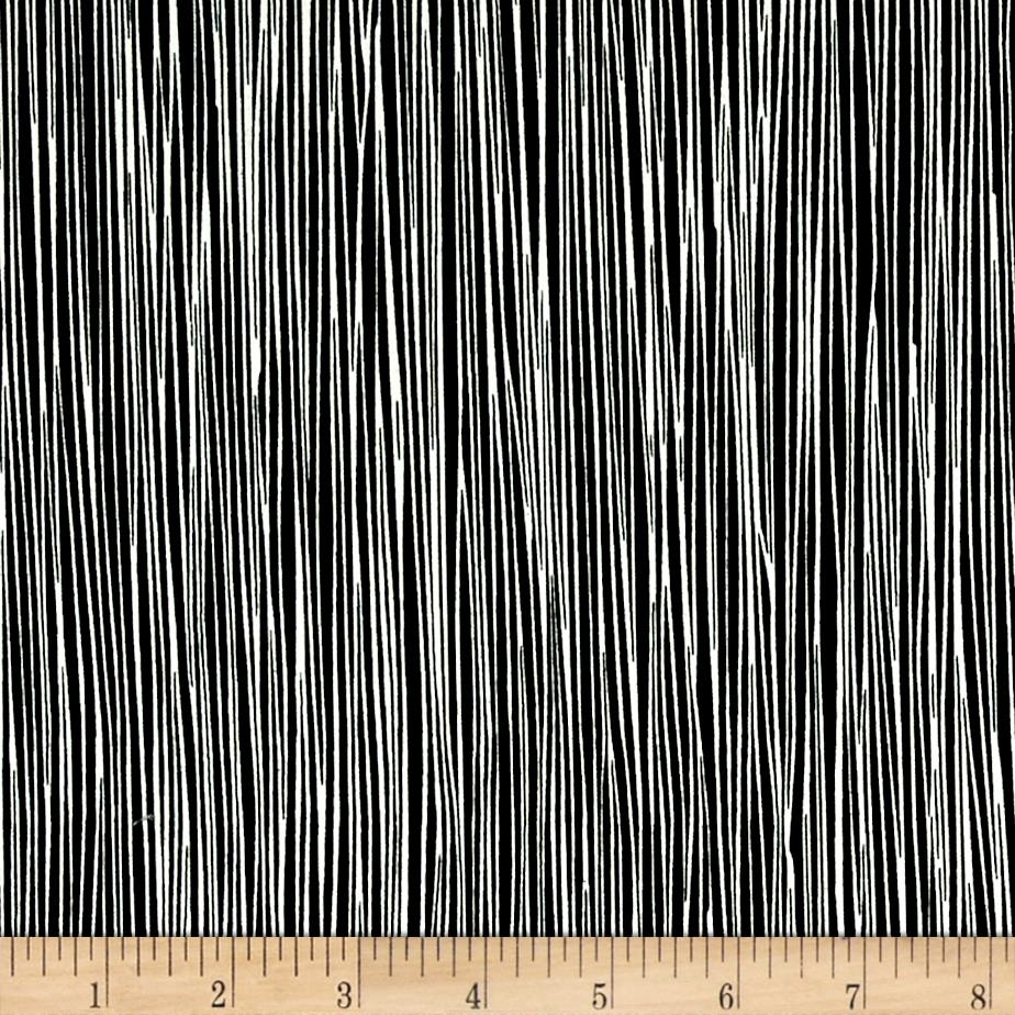 Moda Thicket Stripes Black/Natural