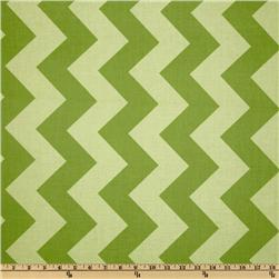 Riley Blake Chevron Large Tonal Green Fabric