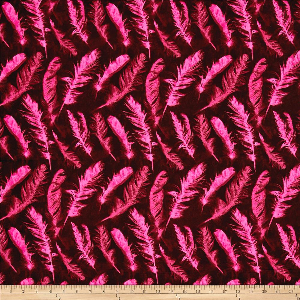 Nel Whatmore Ghost Feather Pink