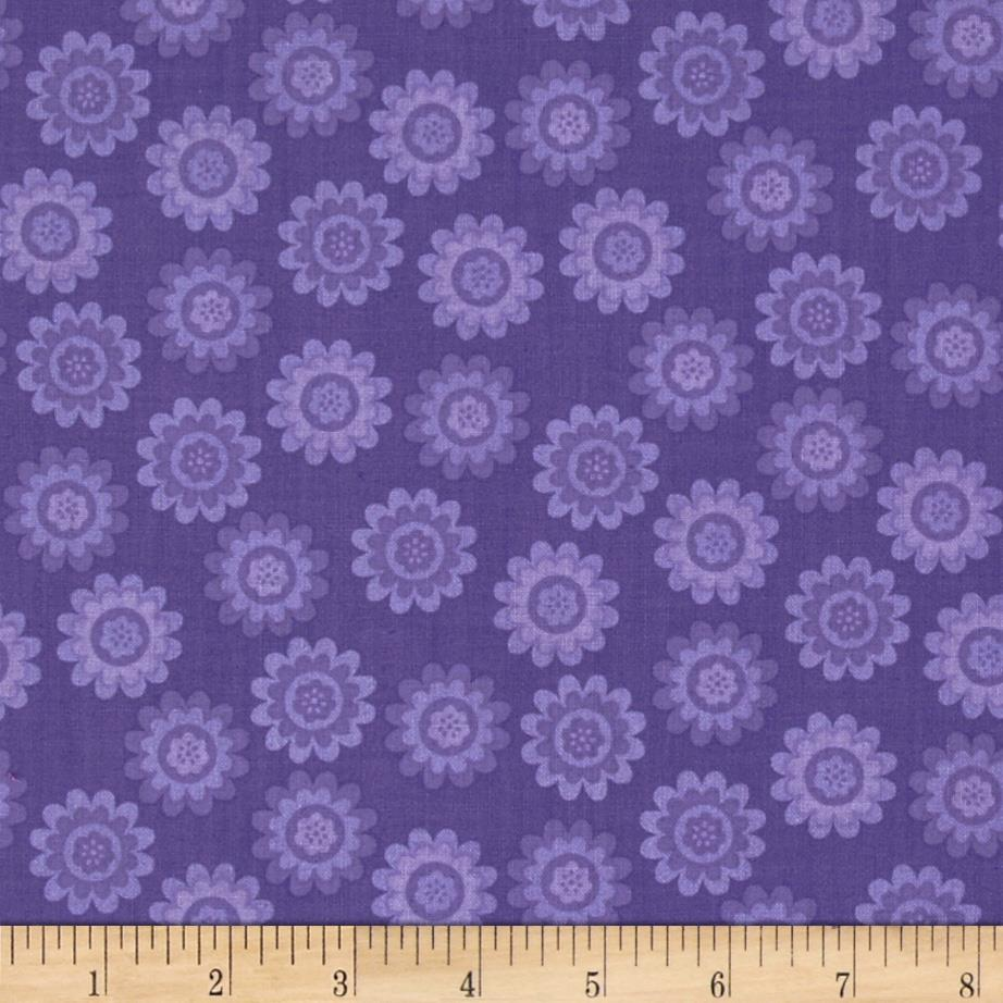 Let's Play Dolls Daisy Flower Dot Purple
