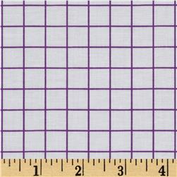 "Citrus 1/2"" Grid Grape"