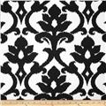 Tempo Damask White/Black