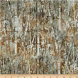 Bali Batiks Handpaints Bamboo Tan Fabric