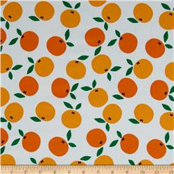 Cloud 9 Organic Corduroy Small World Oh My Darlin Clementine