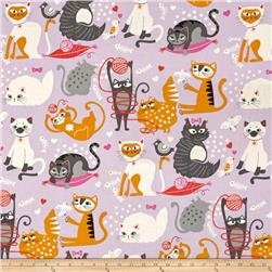 Alexander Henry Nicole's Prints Whiskers Lilac