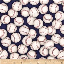 Kaufman Sports Life Baseballs Navy
