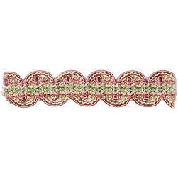 "Fabricut 1.125"" Kian Trim Strawberry"