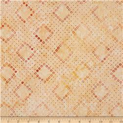 Artisan Batiks Tango 3 Geo Diamonds Sorbet Orange