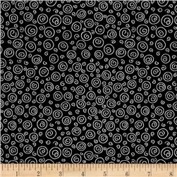 Knit Happy Swirl Black