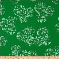 Michael Miller Stitch Circle Emerald