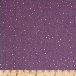 Bellisima Dots Metallic Dark Lilac