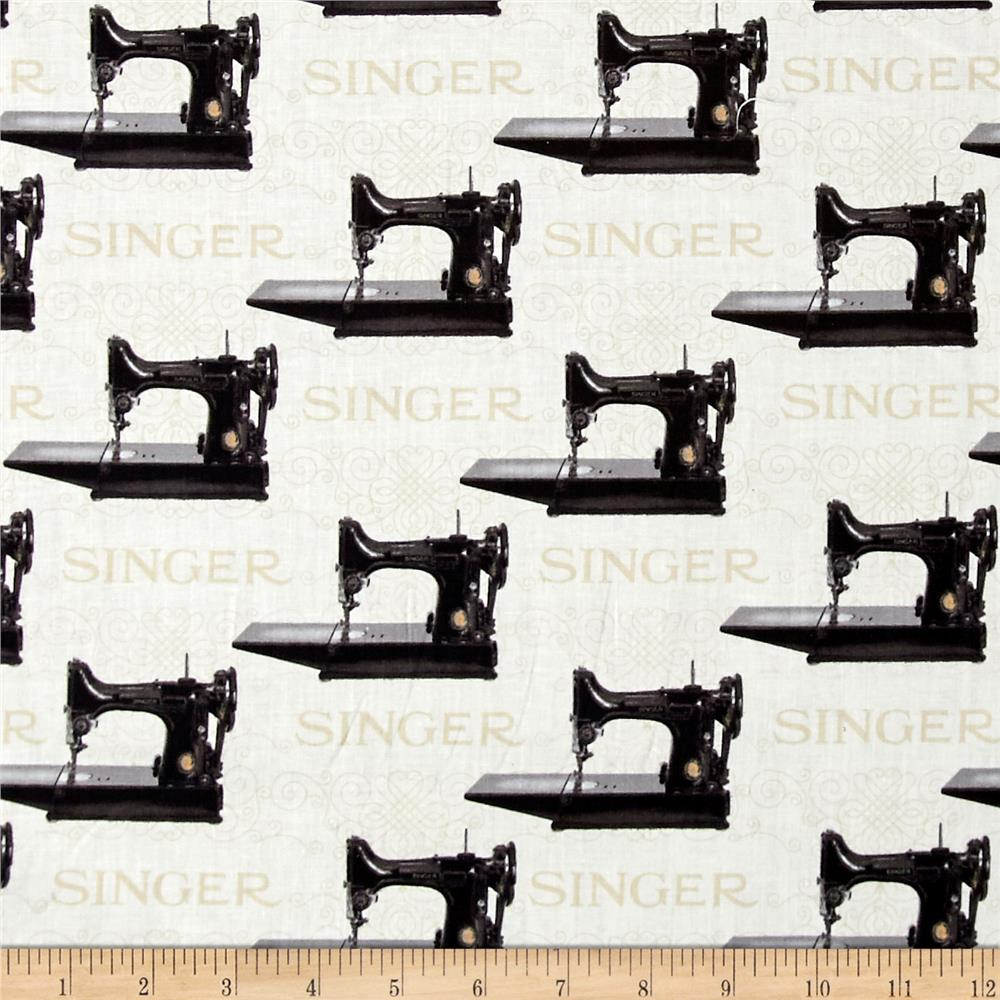 Kaufman sewing with singer machines antique discount for Cheap sewing fabric