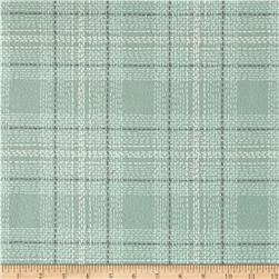 Dear Stella Flannel Winter Cabin Dash Plaid Spruce