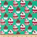 Sugar Rush Holiday Cupcakes Green