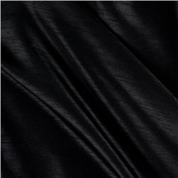 Shantung Sateen Black