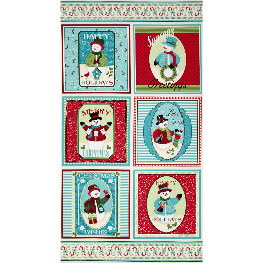 Happy Holidays Snowmen Pillows 24