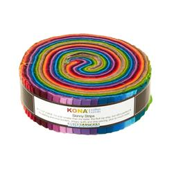 "Kona Cotton New Solids 1.5"" Skinny Strips"