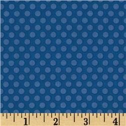 Riley Blake Zoofari Dots Blue