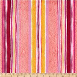 Daisy Love Flannel Daisy Love Stripe Garden Fabric