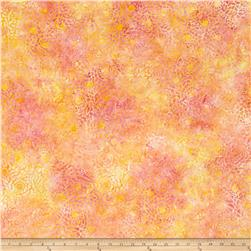 Wilmington Batiks Mosaic Yellow/Pink