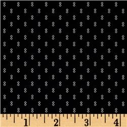 Kaufman Sevenberry Petite Foulard Double Square Black