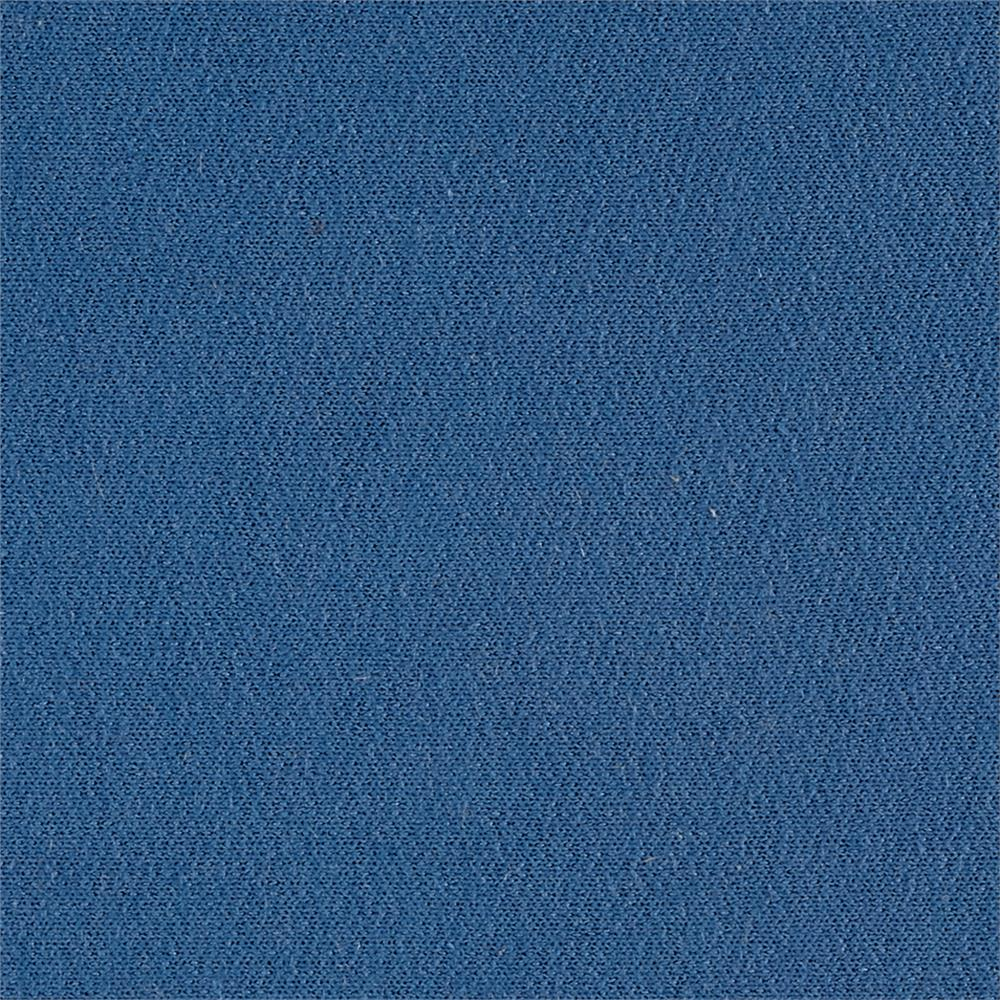 French Terry Solid Columbia Blue