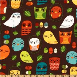 Critter Community Owls Retro