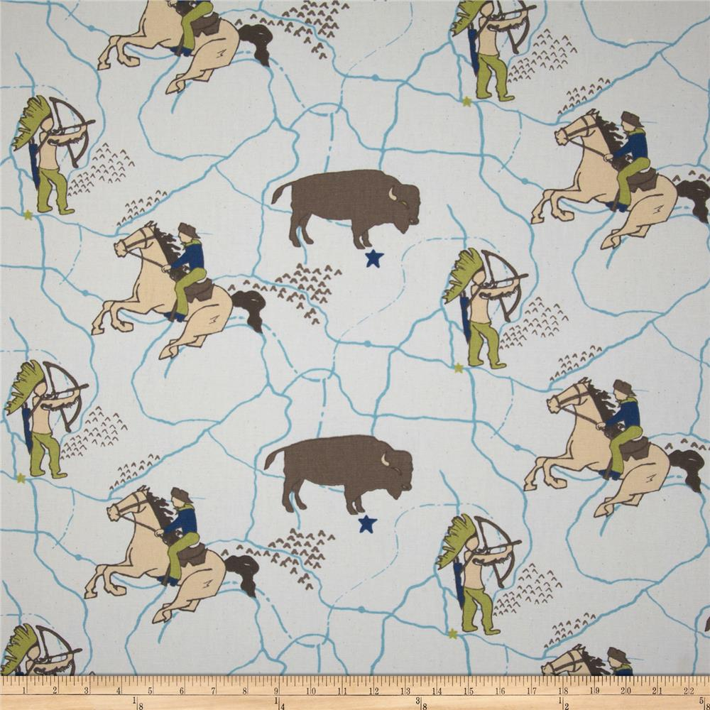 Premier Prints Wild West Felix/Natural