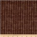 Alpine Woods Houndstooth Brown