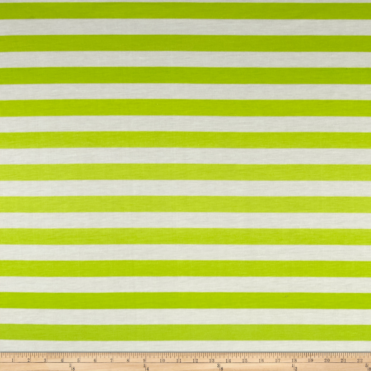Ombre Jersey Knit Stripe Green/Lime Fabric by Stardom Specialty in USA