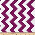 Riley Blake Medium Chevron Purple