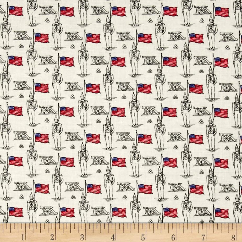Mary Fons Small Wonders Americana Solider Cream