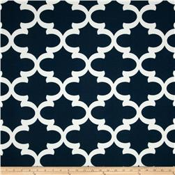 Premier Prints Indoor/Outdoor Fynn Oxford Blue Fabric
