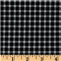 Marcus High Contrast Metallic Check Black