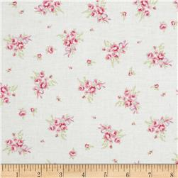 Treasures by Shabby Chic Ballet Rose Rosebud White