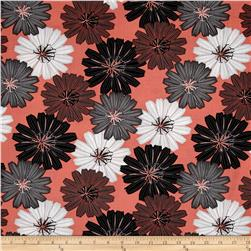 Mod About You Packed Dahlias Coral