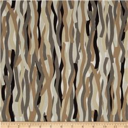 Mineral Forest Tremor Brown Fabric