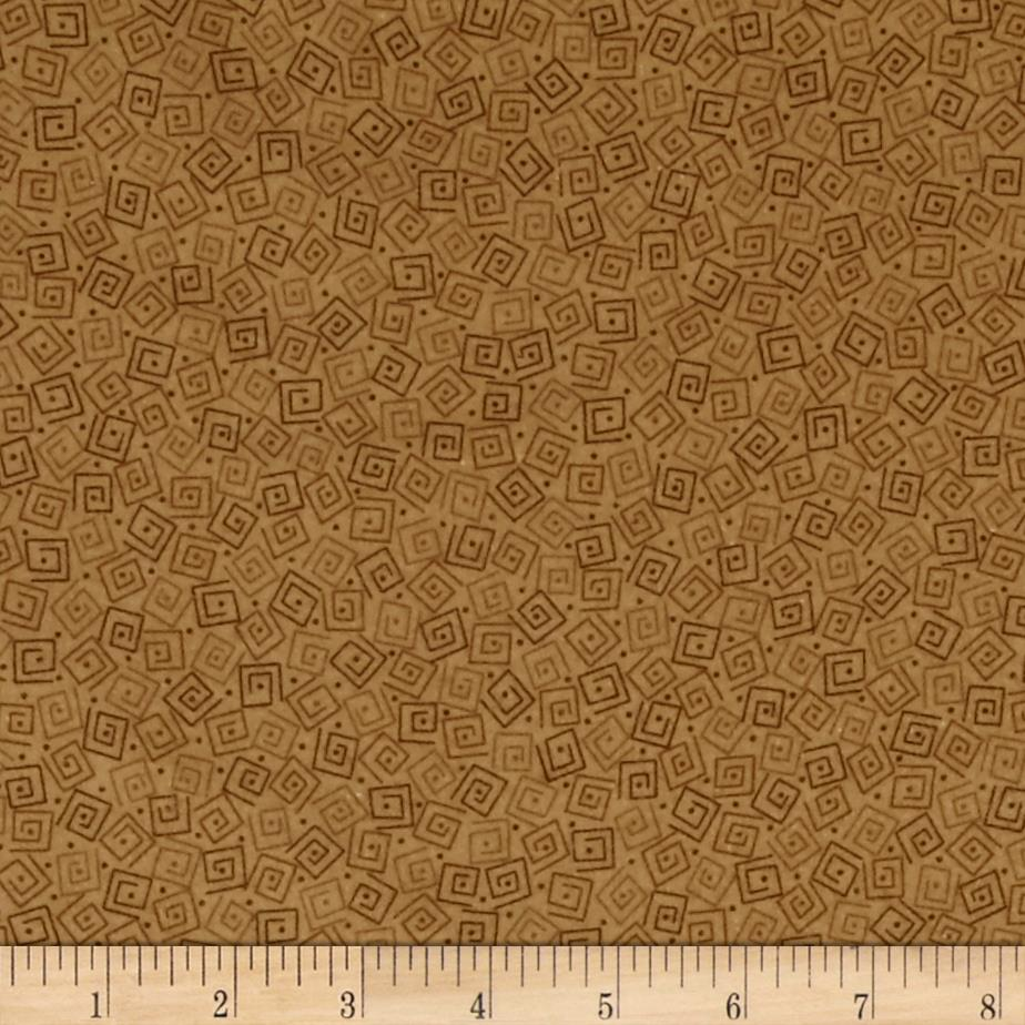 Harmony Flannel Squares Toffee