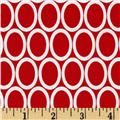 Remix Ovals Red