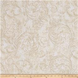 Kanvas Winter Story Vine Scroll Cream