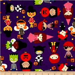 Kaufman Pumpkin Fun Halloween Kids Purple