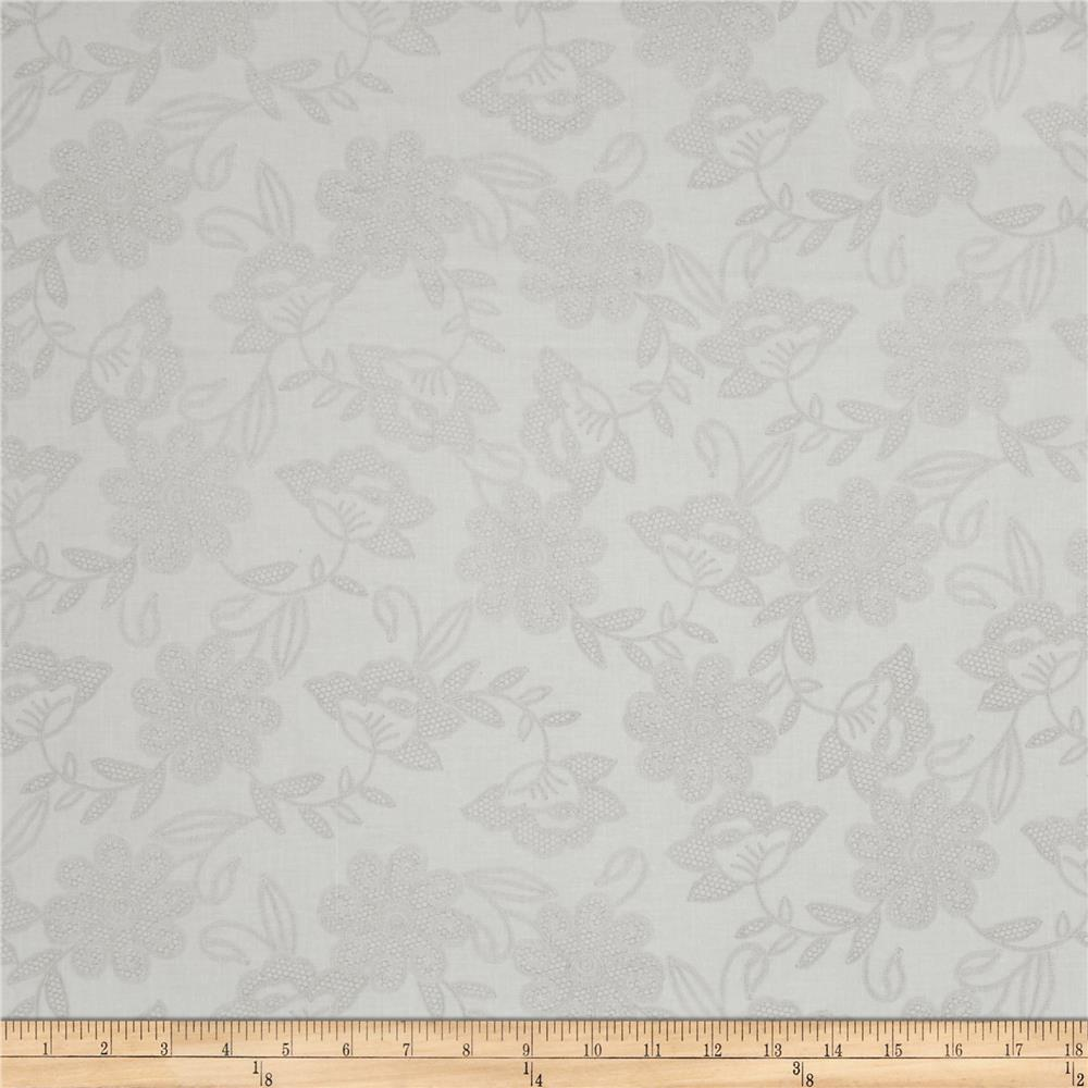 Kanvas White Out Wedding Lace Dove/White Fabric