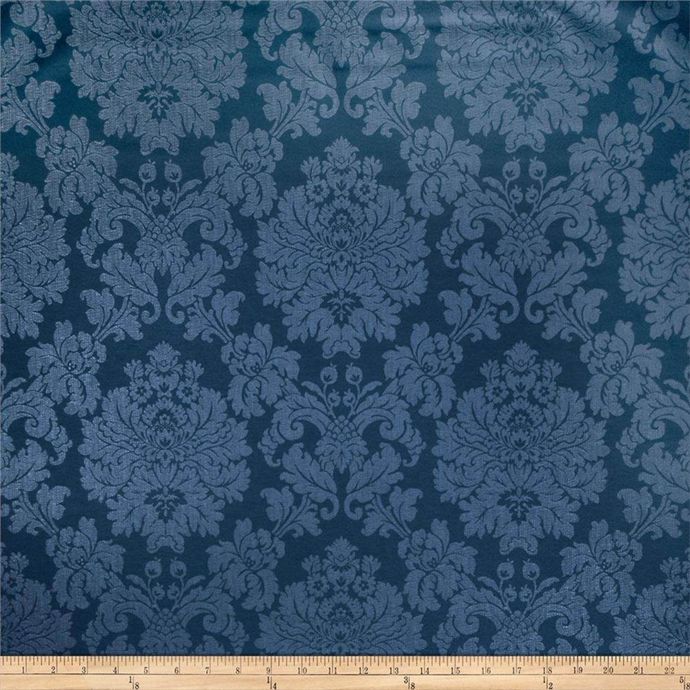 Fabricut Crypton Grand Damask Cobalt