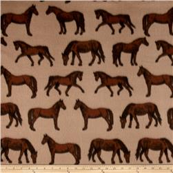 Polar Fleece Thoroughbred Tan