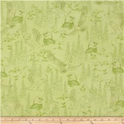 Majestic Bald Eagles Toile Willow