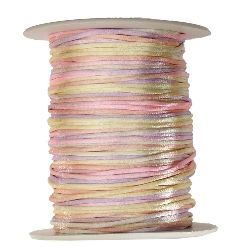 May Arts Satin String Spool Pastels