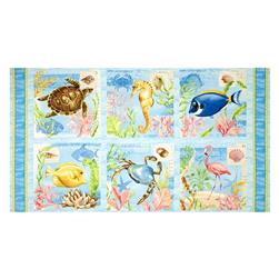 Seaside Wonders Craft 36 In. Panel Multi