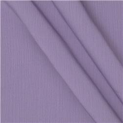 Lyric Wide Crinkle Polyester Shirting Dusty Lavender